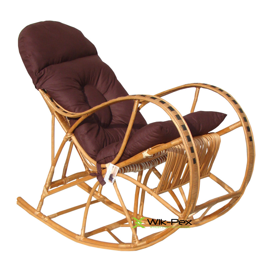 Fotel Bujany Klasyk Xl Zebra Poduszka 02