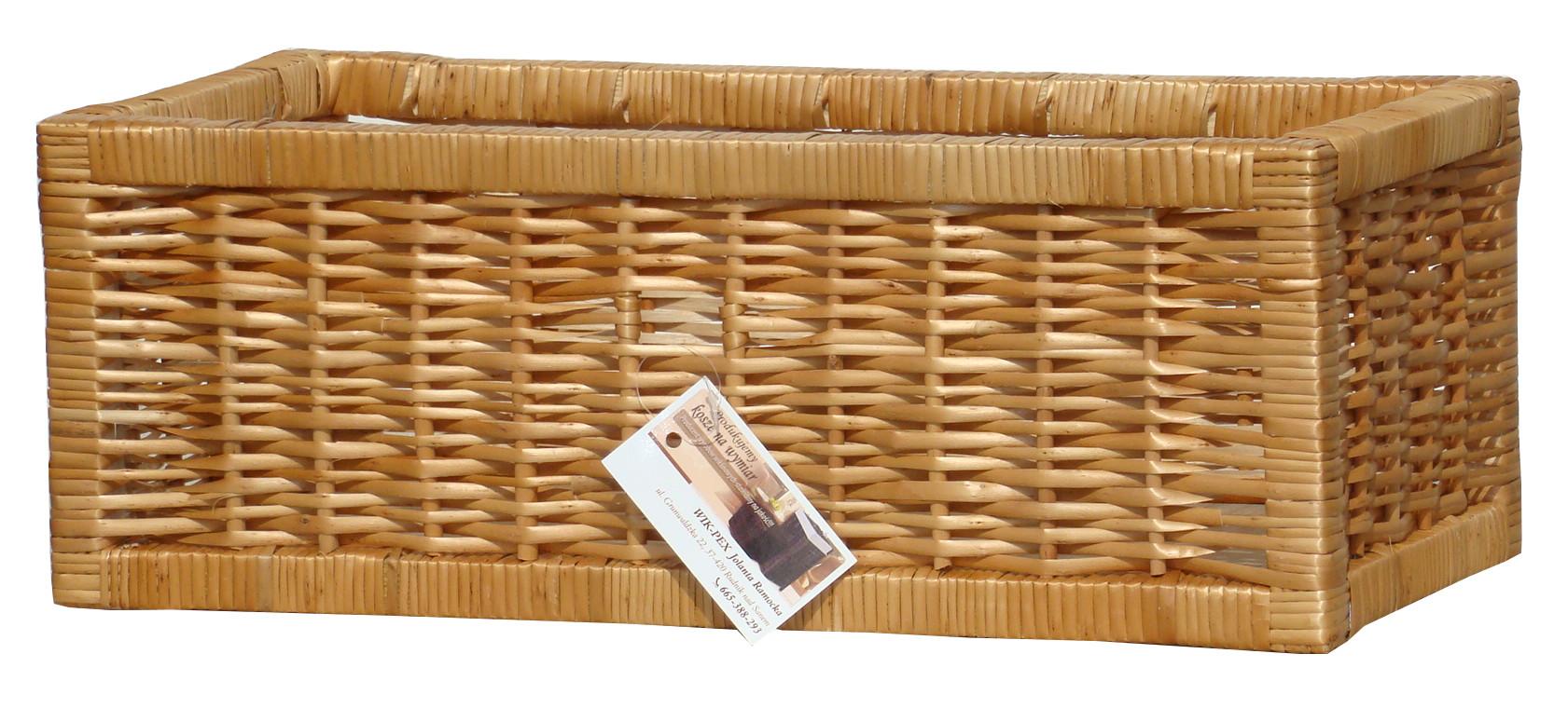 e42bb07bbac07c Koszyk z wikliny na półkę - wyroby z wikliny WIK-PEX